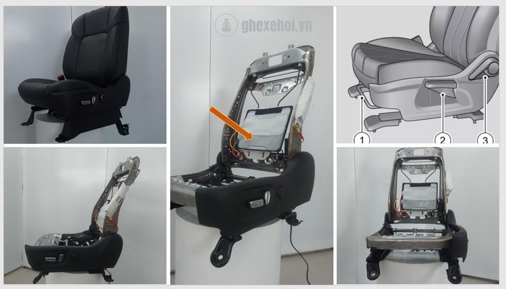 Độ Ghế massage xe hơi - Nâng cấp ghế tài xế 12 Hướng(1)