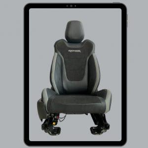Ghế phụ chỉnh điện 6 hướng xe Ford Raptor (1)