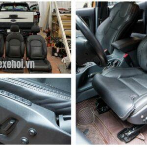 Độ ghế Massage cho xe Ô Tô Ford Ranger.
