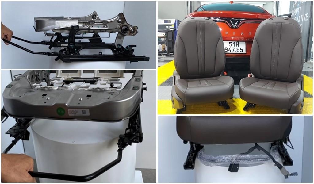 Độ ghế xe ô tô Vinfast Lux A 2.0 bản Base