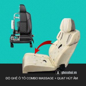 Độ ghế ô tô - Combo 3 trong 1